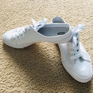 all pure white slip on sneakers 10